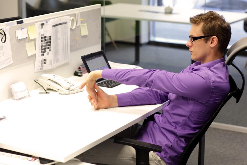 Pausas activas en la oficina