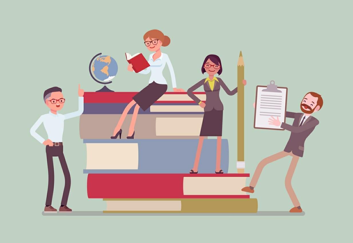 Ilustración maestros