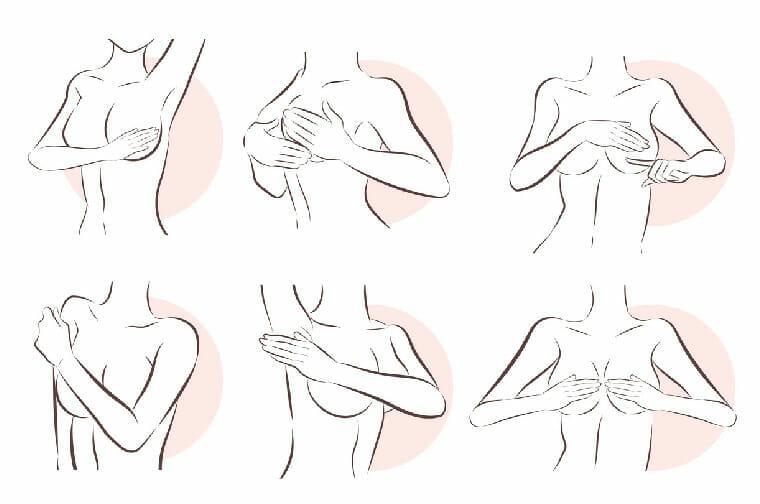 revisión personal de los senos