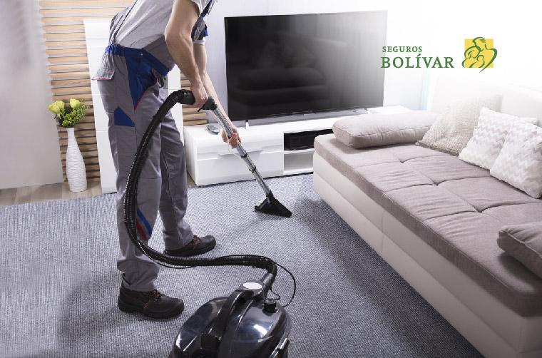 Cómo limpiar las alfombras y los tapetes del hogar