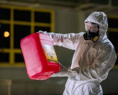 Seguridad de responsabilidad civil por mercancías peligrosas